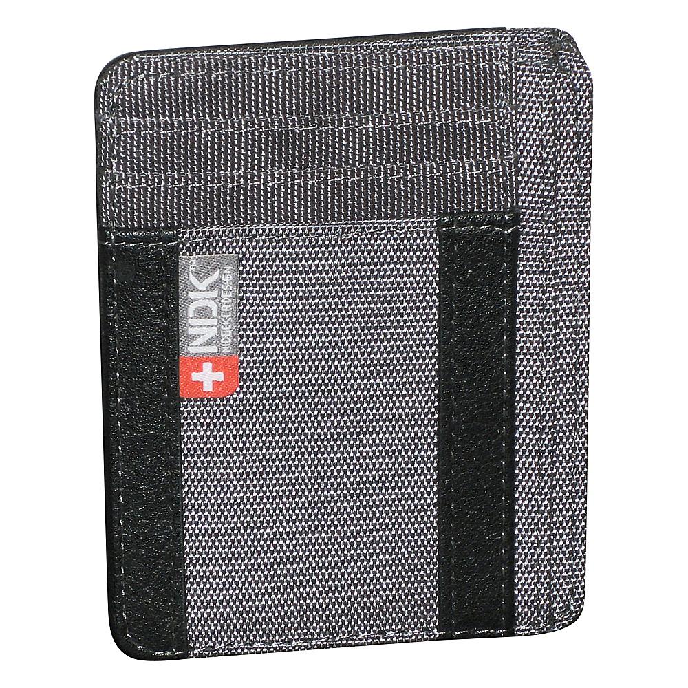 Nidecker Design Capital Collection I. D. Front Pocket Wallet Shale Nidecker Design Men s Wallets