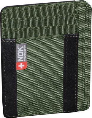 Nidecker Design Capital Collection I. D. Front Pocket Wallet Moss - Nidecker Design Men's Wallets