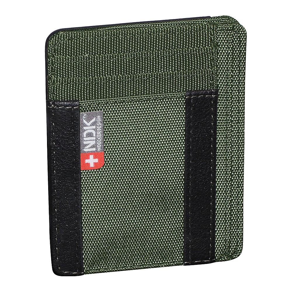 Nidecker Design Capital Collection I. D. Front Pocket Wallet Moss Nidecker Design Men s Wallets