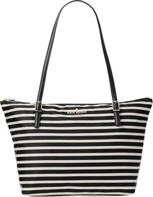kate spade new york Watson Lane Small Maya Shoulder Bag Black/Clotted Cream - kate spade new york Designer Handbags