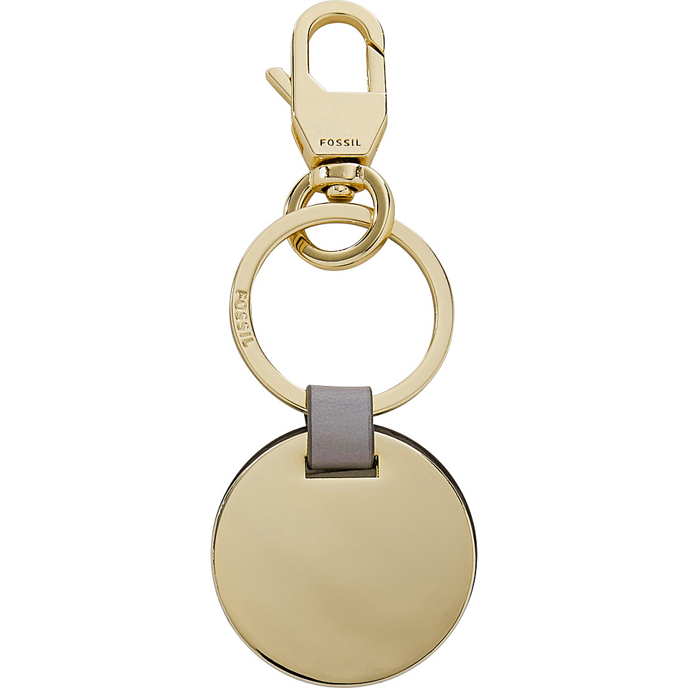 Fossil Plaque Keyfob Gold - Fossil Womens SLG Other - Women's SLG, Women's SLG Other