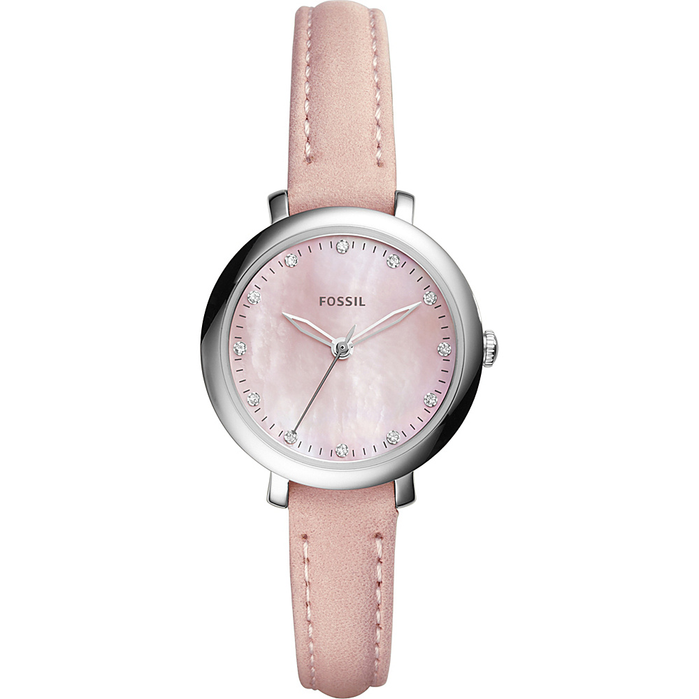 Fossil Jacqueline 3-Hand Watch Pink - Fossil Watches - Fashion Accessories, Watches