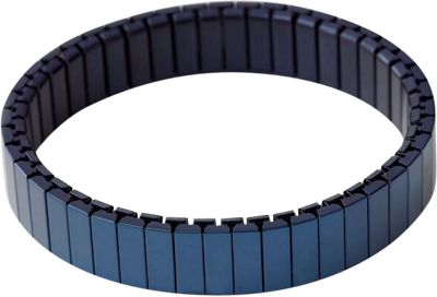 Rilee & Lo Stacking Bracelet for the Apple Watch - Shiny - M/L Navy - Rilee & Lo Wearable Technology