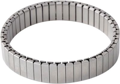 Rilee & Lo Stacking Bracelet for the Apple Watch - Shiny - M/L Silver - Rilee & Lo Wearable Technology