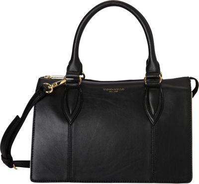 Tignanello City Satchel Black Multi - Tignanello Leather Handbags