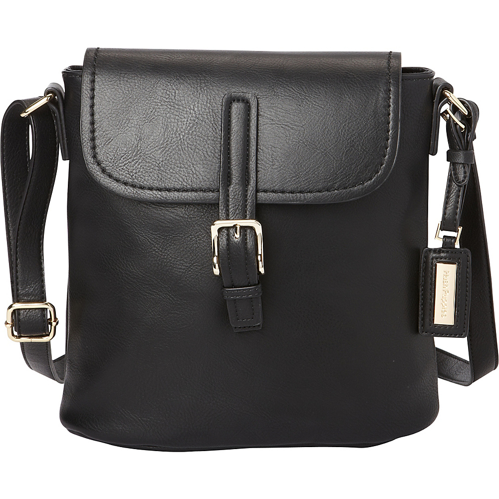 Hush Puppies Fannie Crossbody Black Hush Puppies Travel Duffels