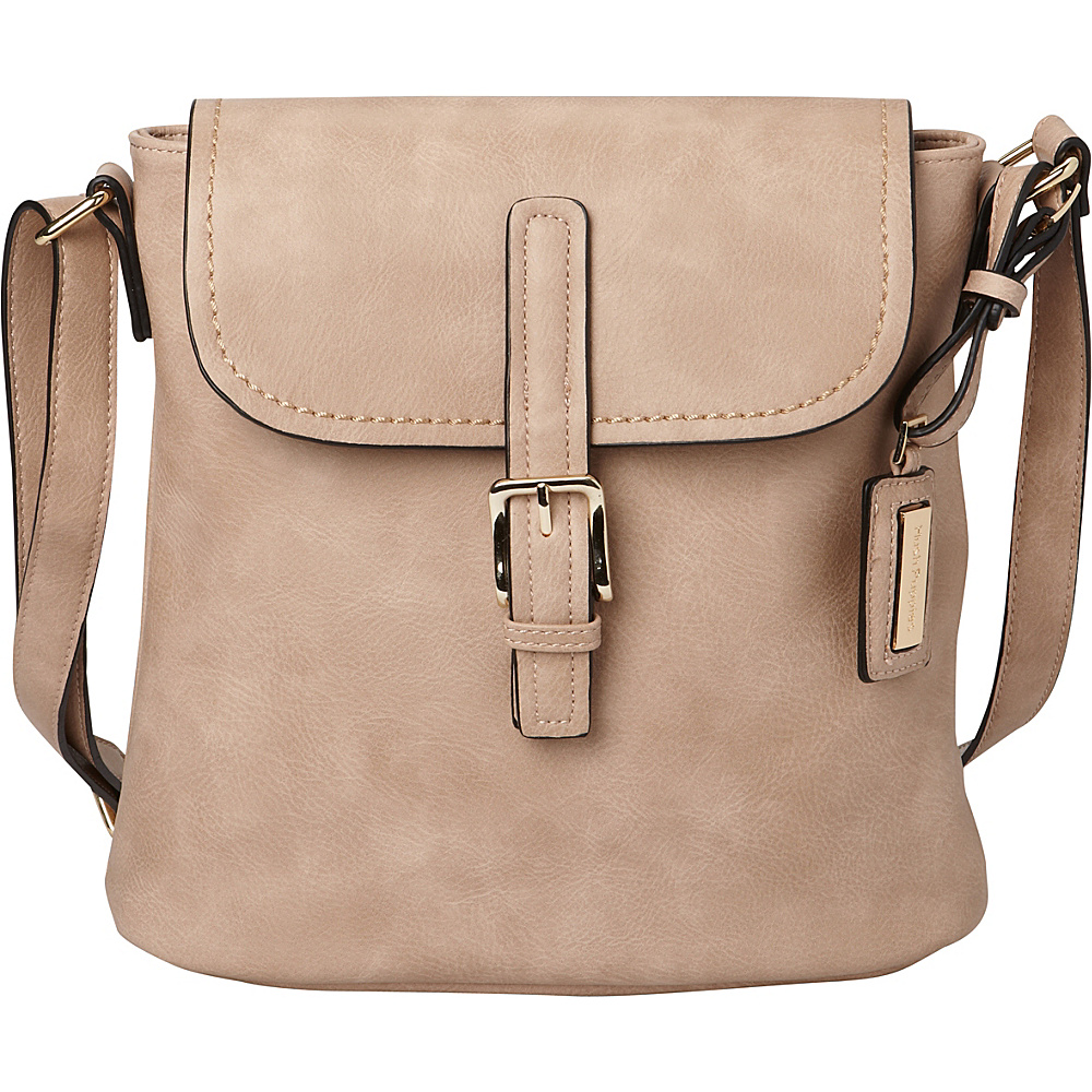 Hush Puppies Fannie Crossbody Taupe Hush Puppies Travel Duffels