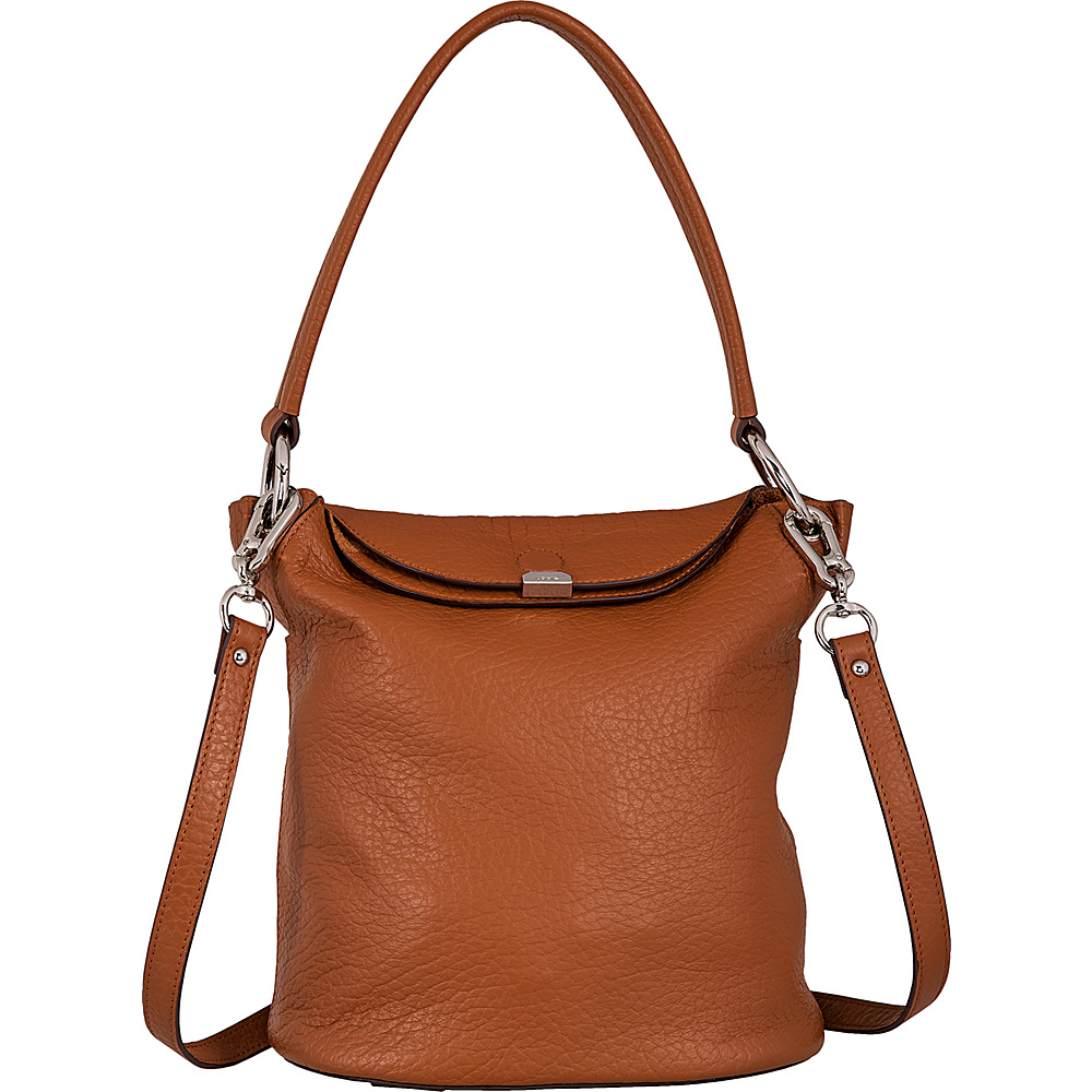 Lodis Borrego Under Lock & Key Lainy Convertible Bucket Toffee - Lodis Leather Handbags - Handbags, Leather Handbags