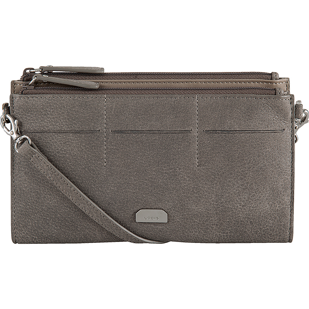 Lodis Gijon Fairen Clutch Crossbody Black - Lodis Leather Handbags - Handbags, Leather Handbags