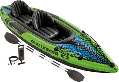 Intex Challenger K2 Kayak Green - Intex Outdoor Accessories