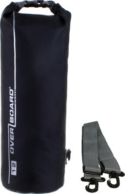 Roc Gear 12L Waterproof Dry Tube Bag Black - Roc Gear Outdoor Accessories