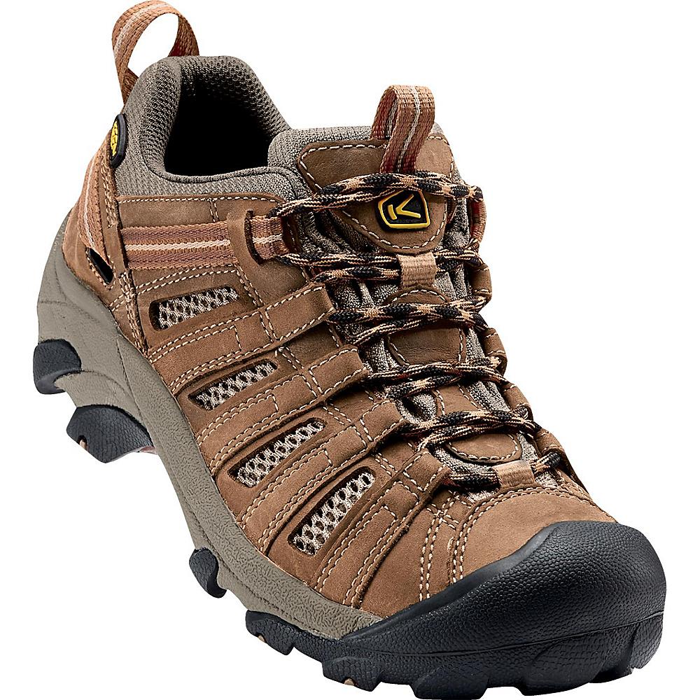 KEEN Mens Voyageur Hiking Shoe 10.5 - Crisp/Shitake - KEEN Mens Footwear - Apparel & Footwear, Men's Footwear