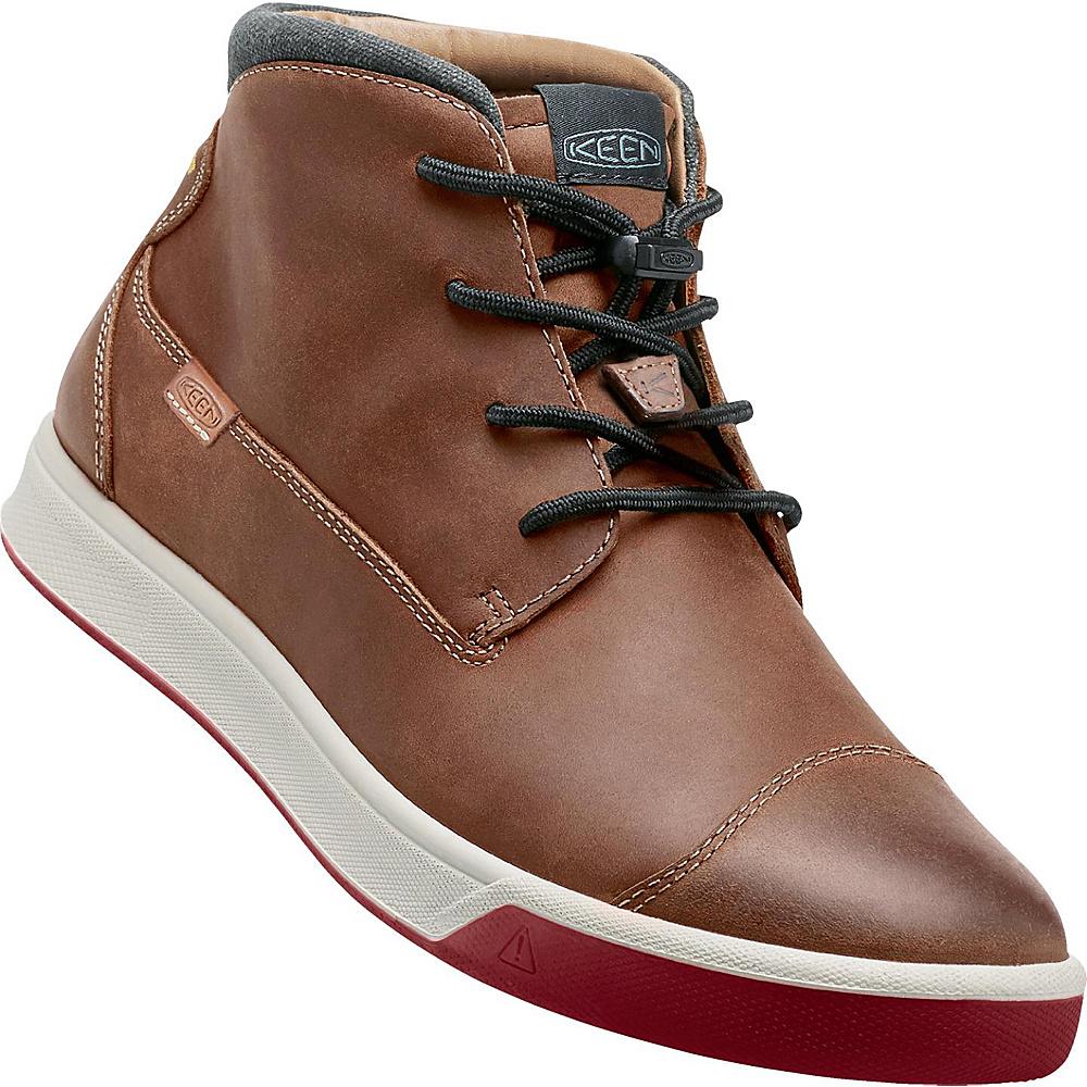 KEEN Mens Glenhaven Mid Sneaker 8.5 - Tortoise Shell - KEEN Mens Footwear - Apparel & Footwear, Men's Footwear