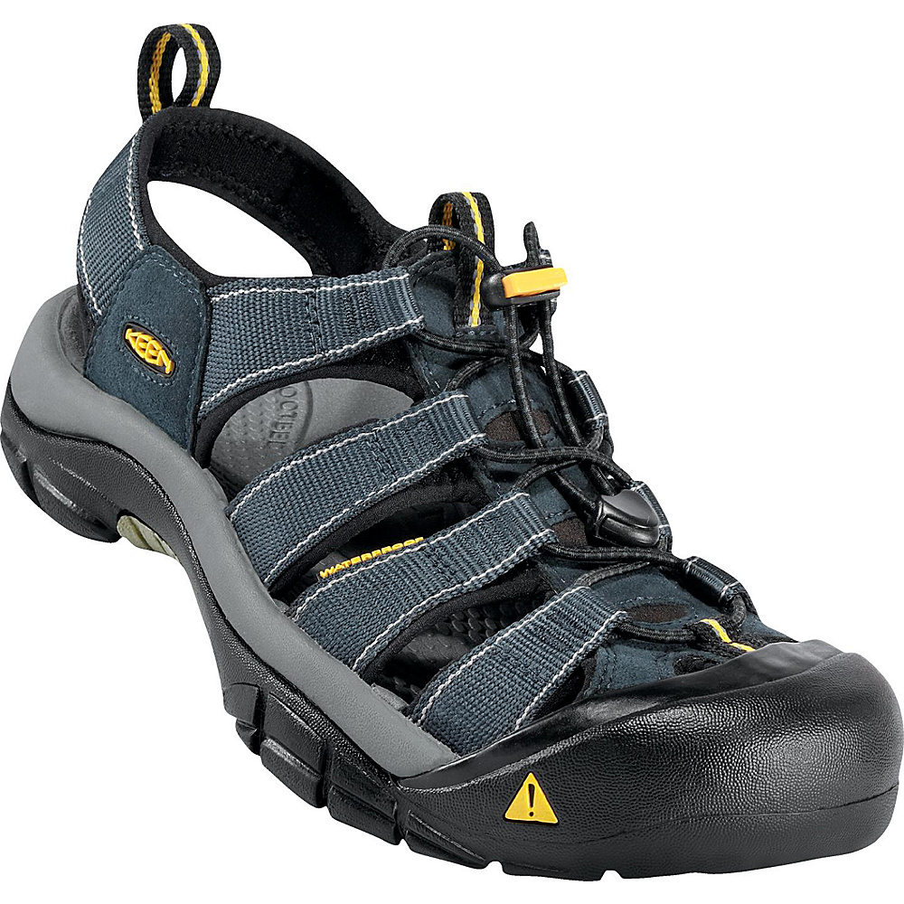 KEEN Mens Newport H2 Sandal 8.5 - Navy / Medium Grey - KEEN Mens Footwear - Apparel & Footwear, Men's Footwear