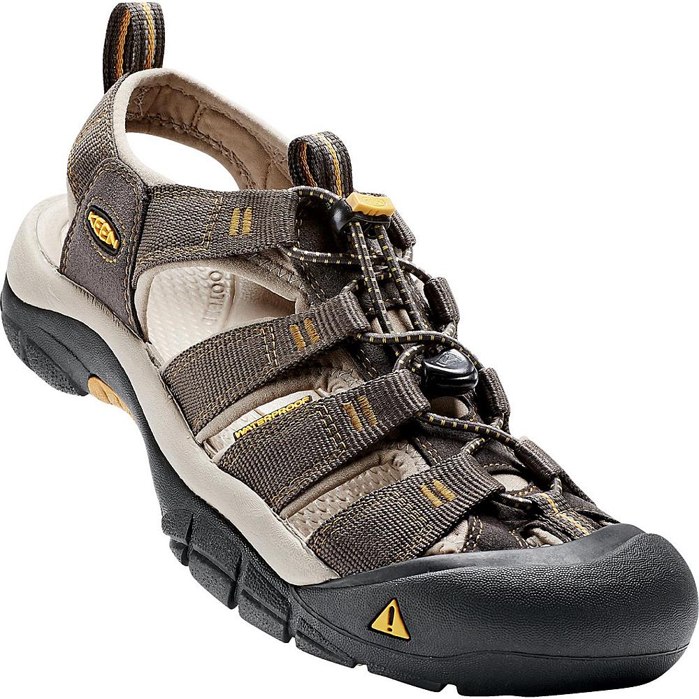 KEEN Mens Newport H2 Sandal 10 - Raven / Aluminum - KEEN Mens Footwear - Apparel & Footwear, Men's Footwear