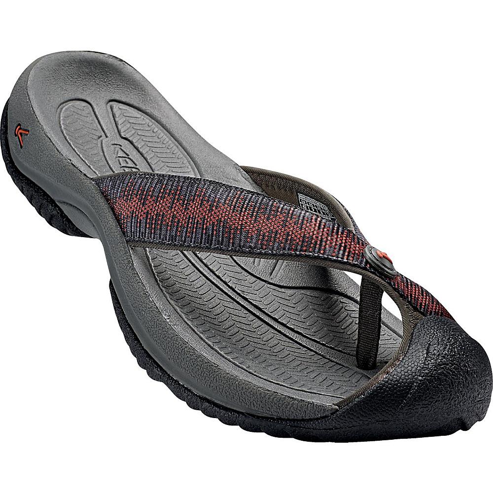 KEEN Mens Waimea H2 Sandal 10 - Raven/Burnt Orchre - KEEN Mens Footwear - Apparel & Footwear, Men's Footwear