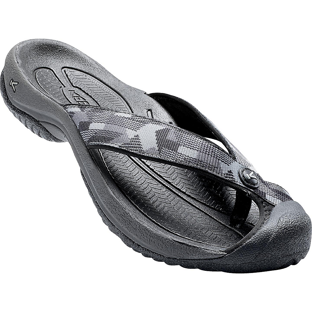 KEEN Mens Waimea H2 Sandal 12 - Black/Neutral Gray - KEEN Mens Footwear - Apparel & Footwear, Men's Footwear