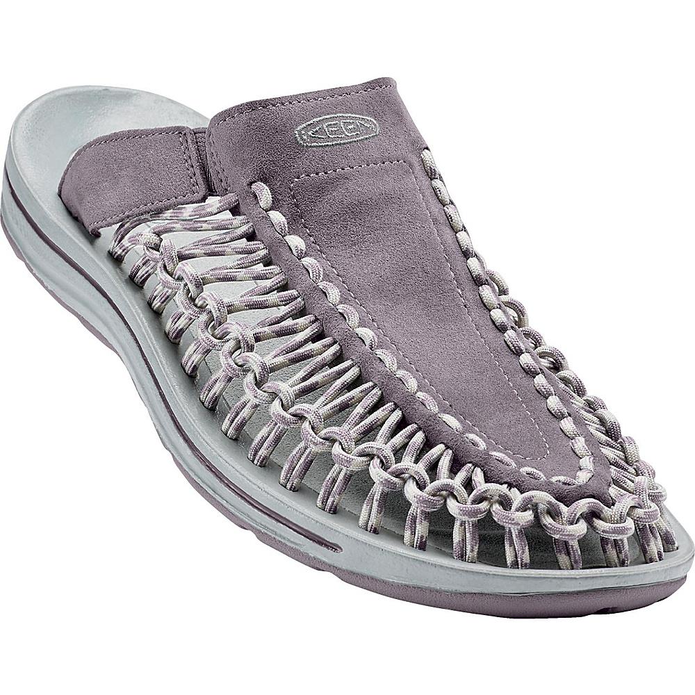 KEEN Womens UNEEK Slide Sandal 11 - Shark/Vapor - KEEN Womens Footwear - Apparel & Footwear, Women's Footwear