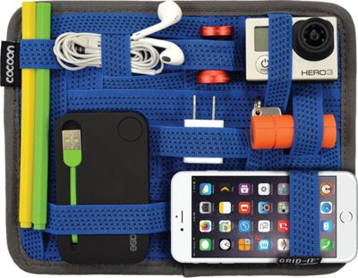 Cocoon GRID-IT! Organizer 7.2 inch x 9.2 inch Blue - Cocoon Electronic Accessories