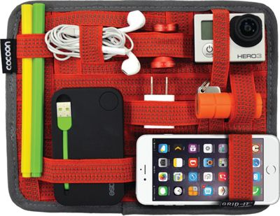 Cocoon GRID-IT! Organizer 7.2 inch x 9.2 inch Red - Cocoon Electronic Accessories
