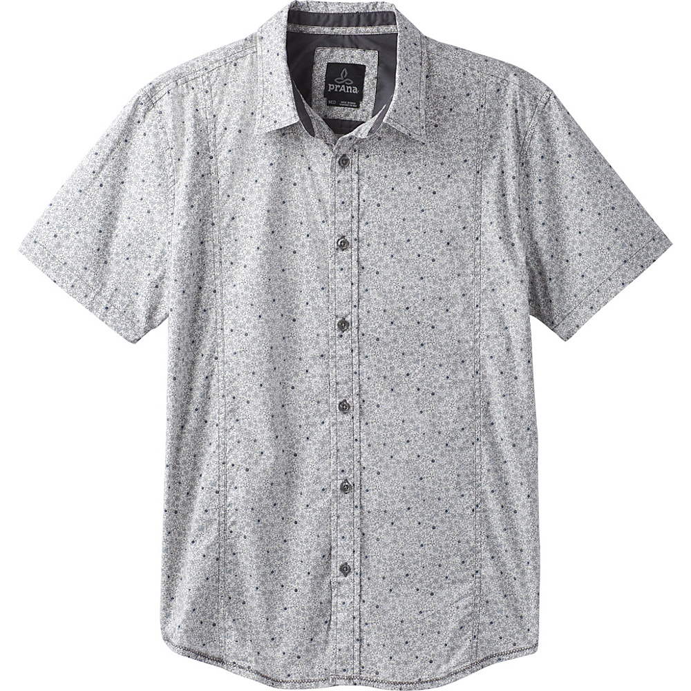 PrAna Lukas Shirt XXL - Gravel - PrAna Mens Apparel - Apparel & Footwear, Men's Apparel