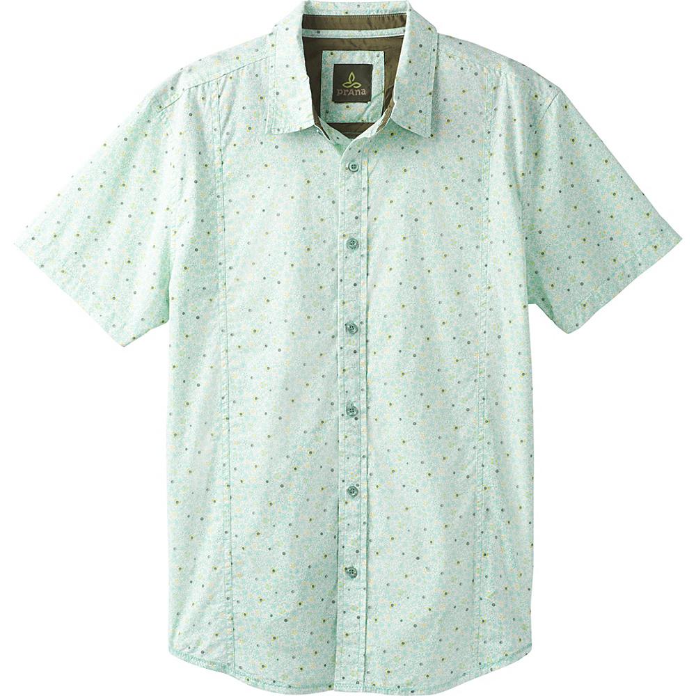 PrAna Lukas Shirt XL - Succulent Green - PrAna Mens Apparel - Apparel & Footwear, Men's Apparel