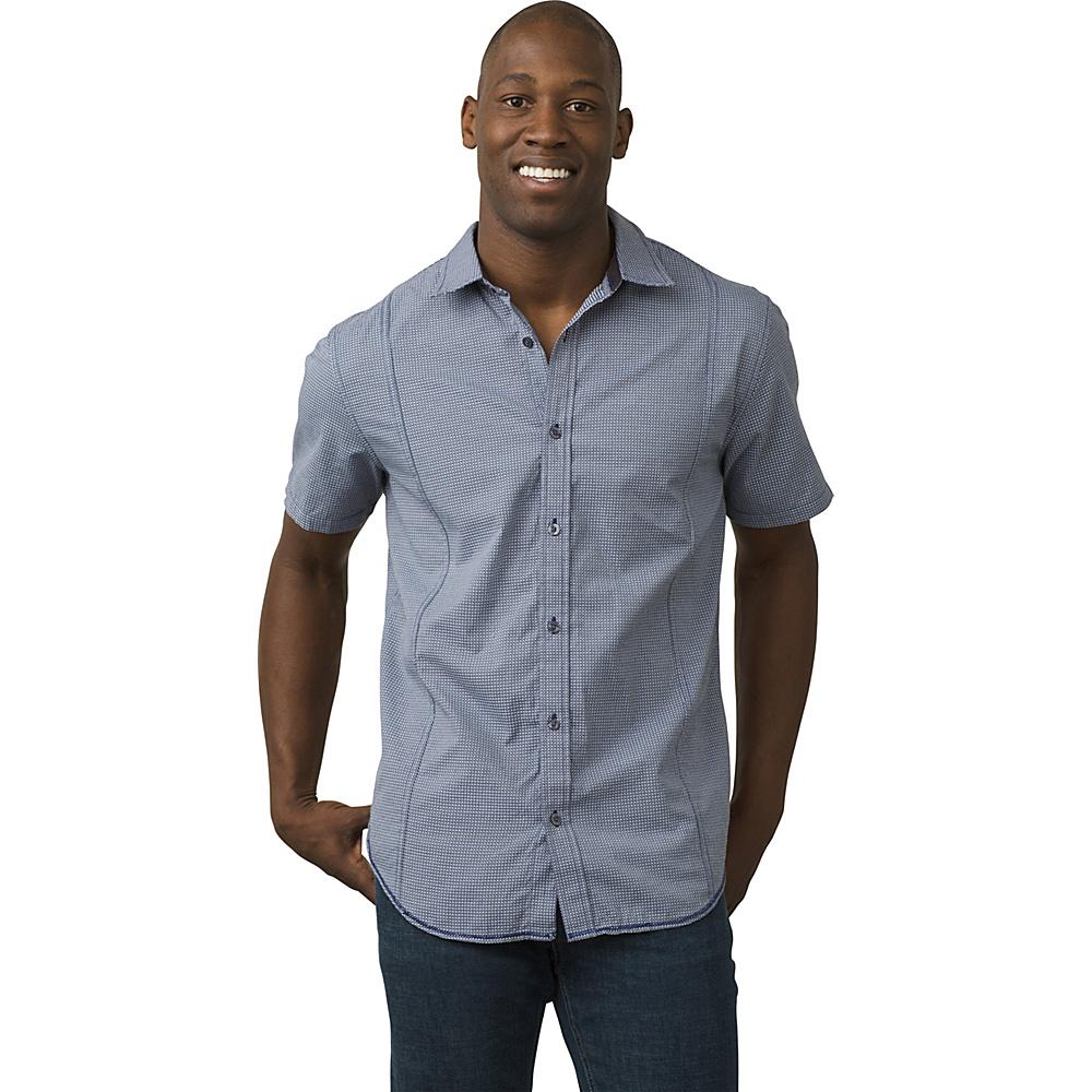 PrAna Lukas Shirt 3XL - Indigo - PrAna Mens Apparel - Apparel & Footwear, Men's Apparel