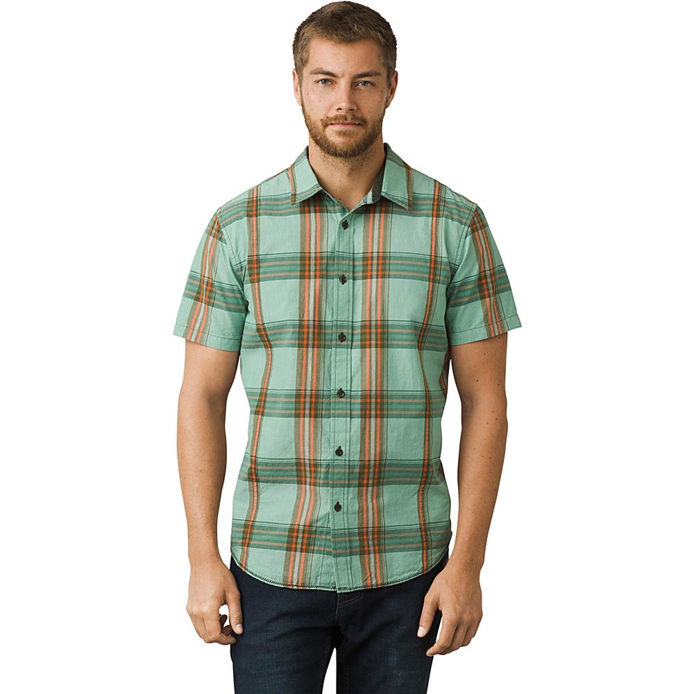 PrAna Lukas Shirt 3XL - Wild Sage - PrAna Mens Apparel - Apparel & Footwear, Men's Apparel