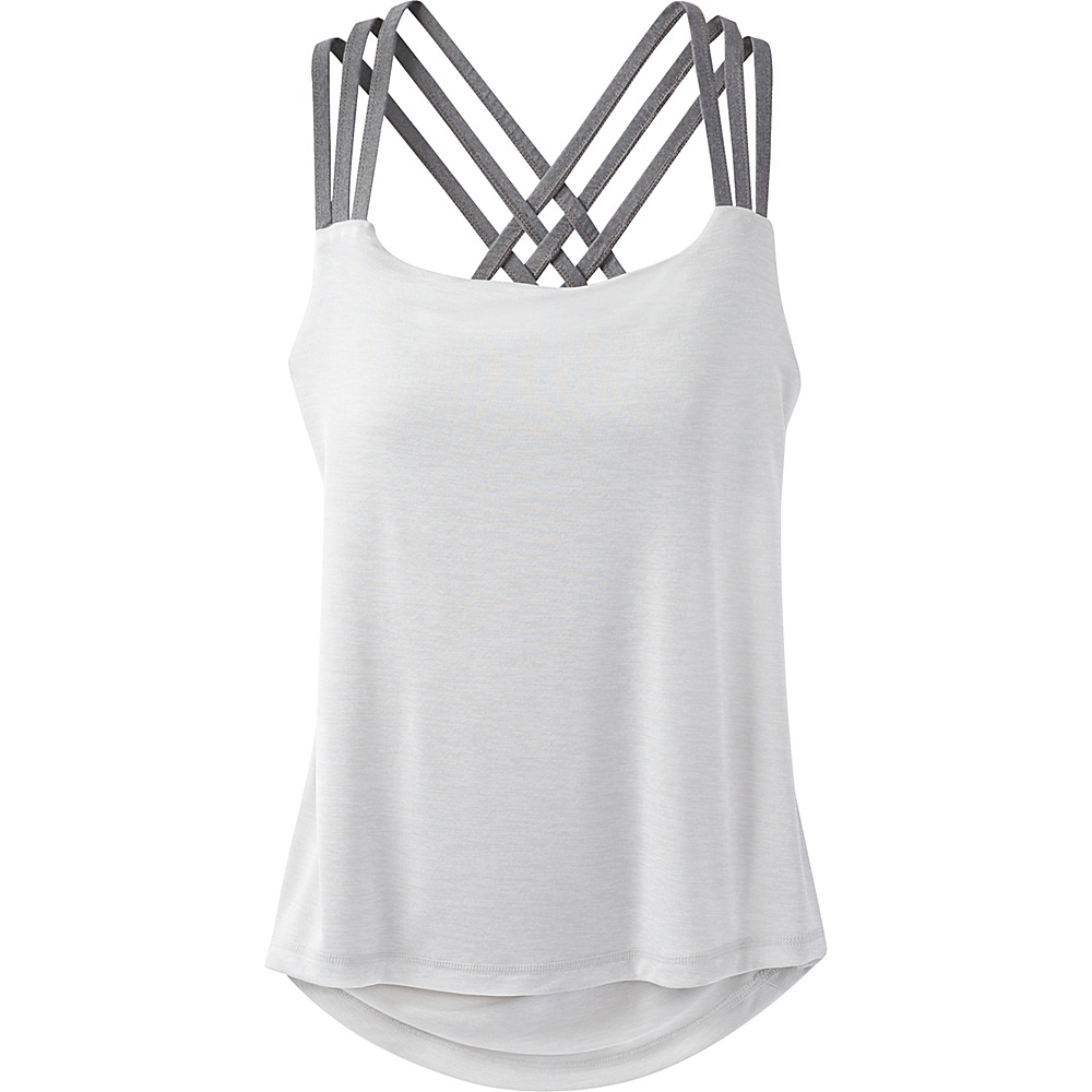 PrAna Waterfall Tank XL - Silver - PrAna Womens Apparel - Apparel & Footwear, Women's Apparel