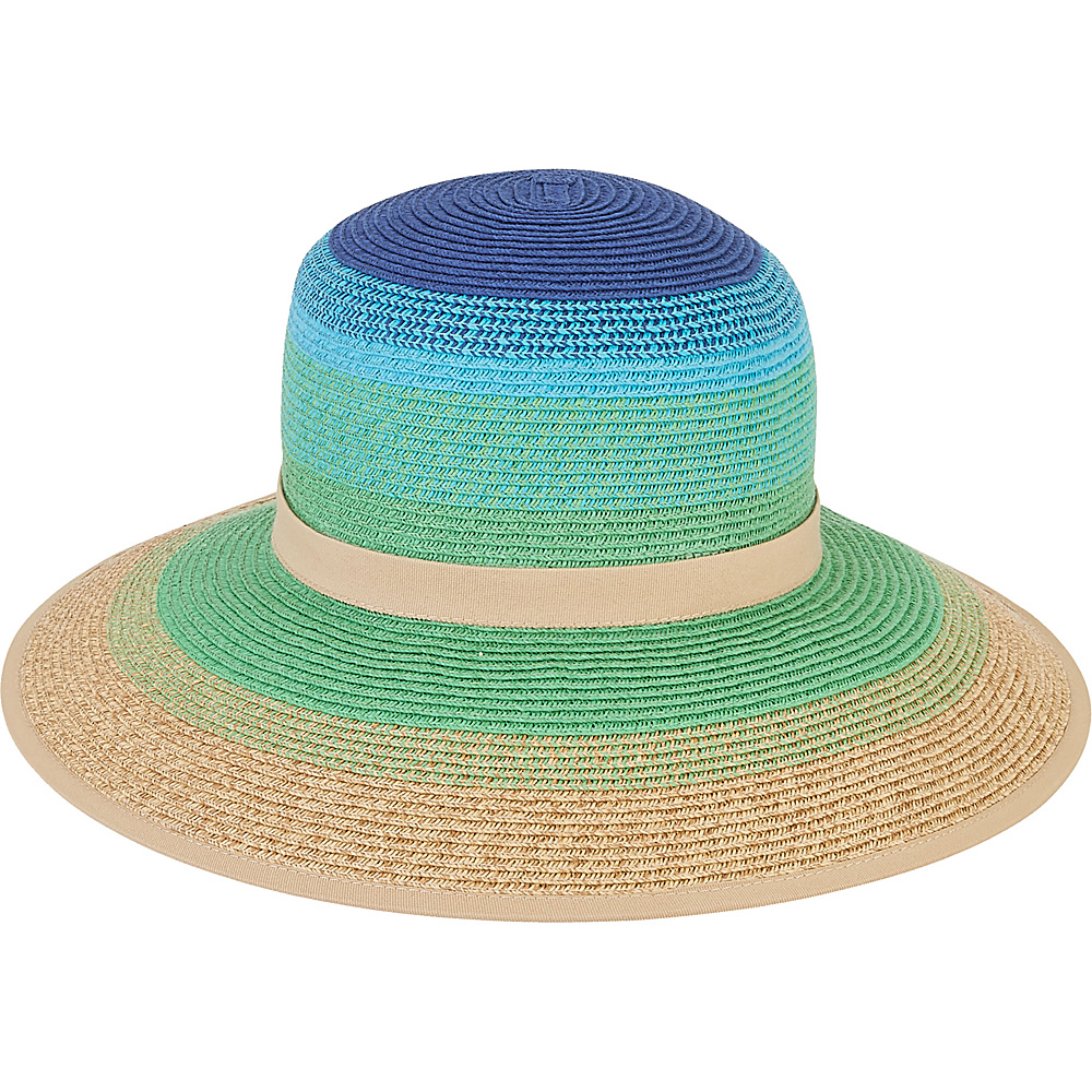 Sun N Sand Backless Hat B-Blue - Sun N Sand Hats/Gloves/Scarves - Fashion Accessories, Hats/Gloves/Scarves