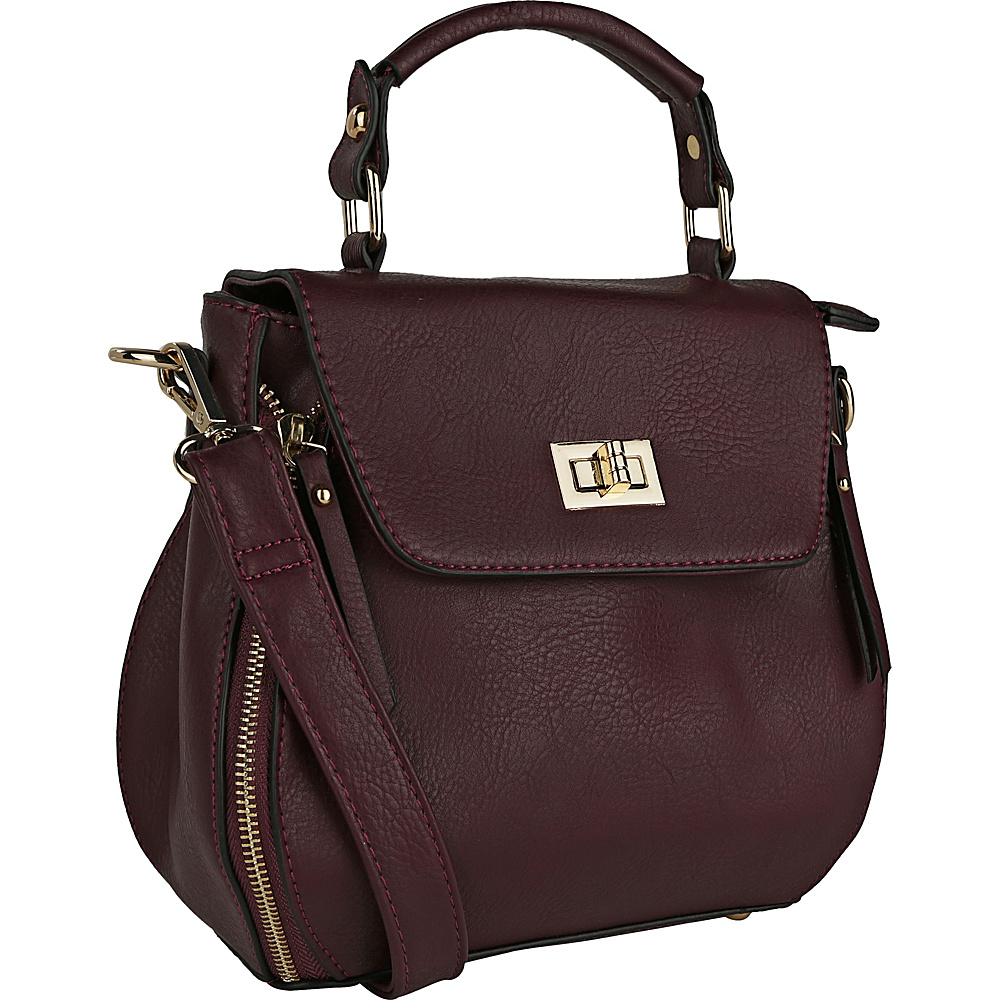MKF Collection by Mia K. Farrow Shava Crossbody Purple - MKF Collection by Mia K. Farrow Manmade Handbags - Handbags, Manmade Handbags
