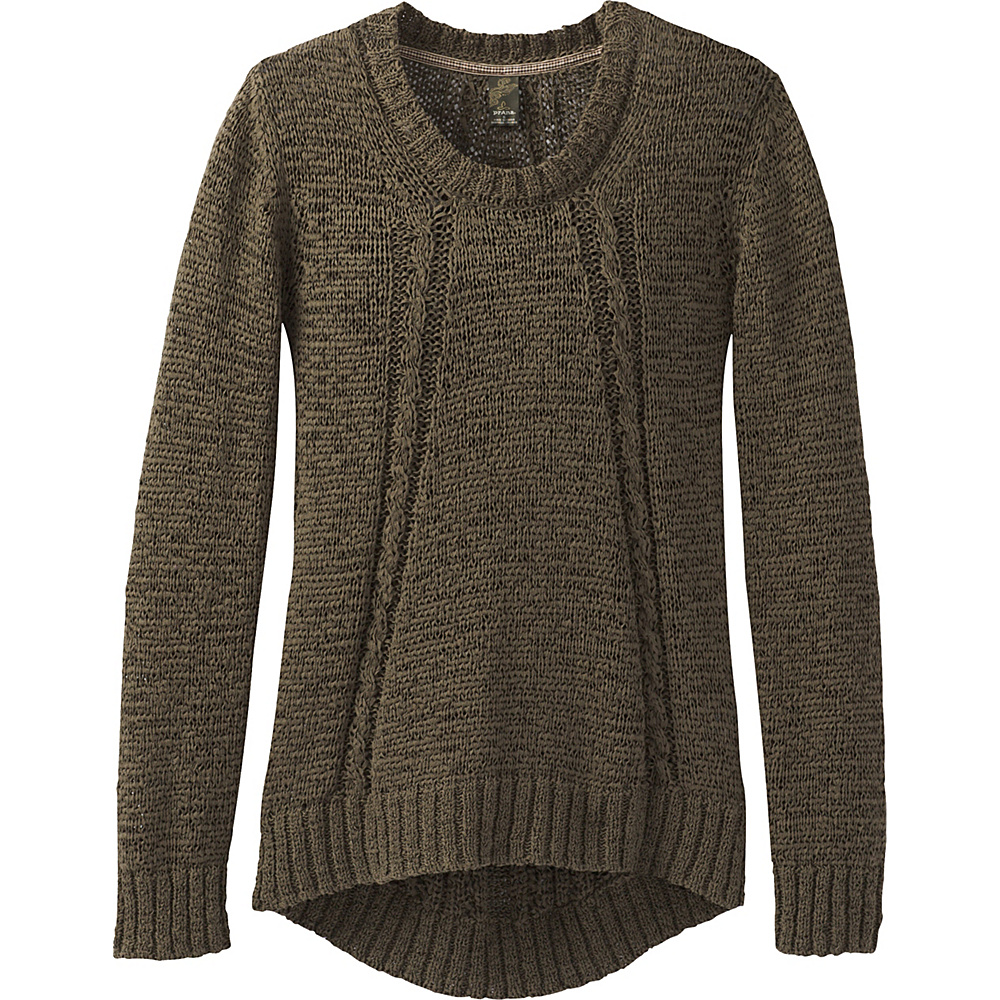 PrAna Monique Sweater L - Cargo Green - PrAna Womens Apparel - Apparel & Footwear, Women's Apparel