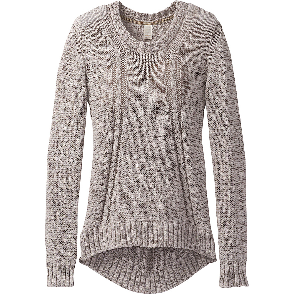 PrAna Monique Sweater XL - Cobblestone - PrAna Womens Apparel - Apparel & Footwear, Women's Apparel