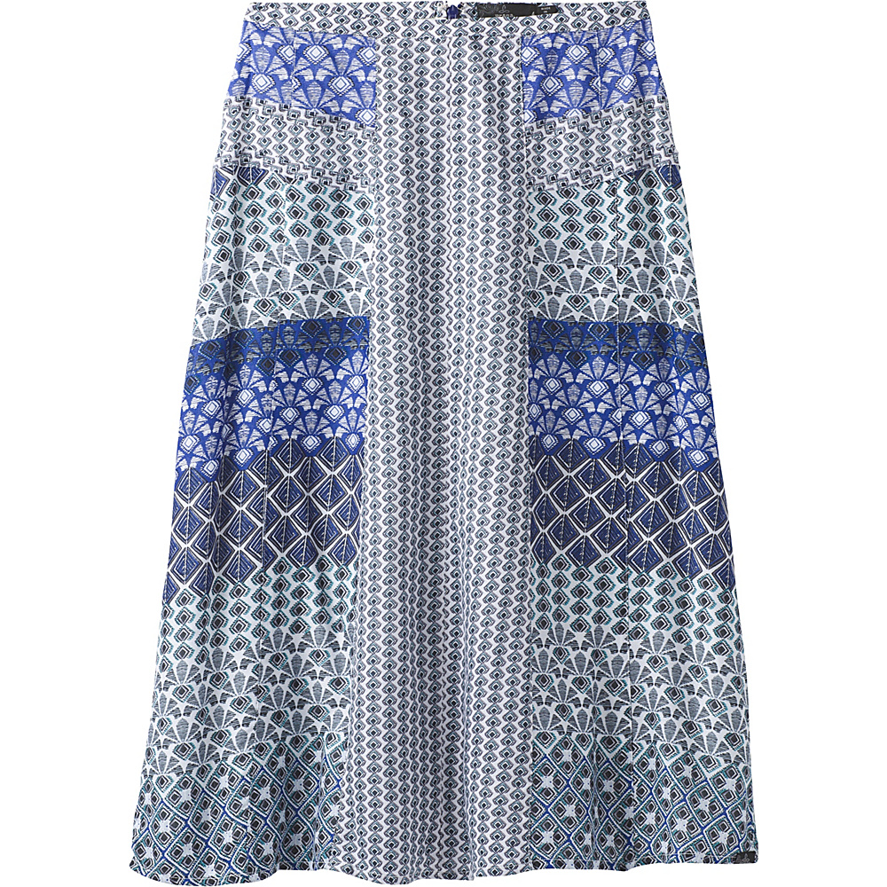 PrAna Isadora Skirt 6 - Cobalt - PrAna Womens Apparel - Apparel & Footwear, Women's Apparel