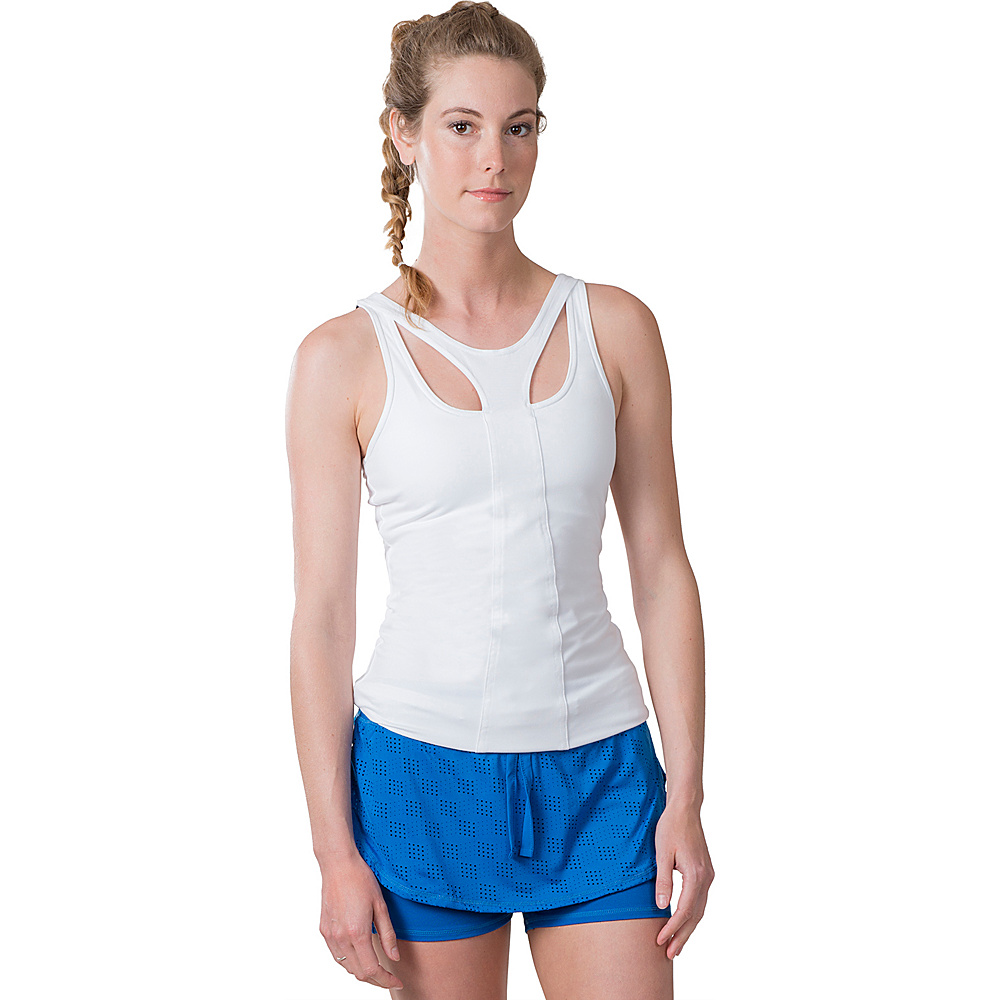Soybu Warrior Tank XS - White - Soybu Womens Apparel - Apparel & Footwear, Women's Apparel