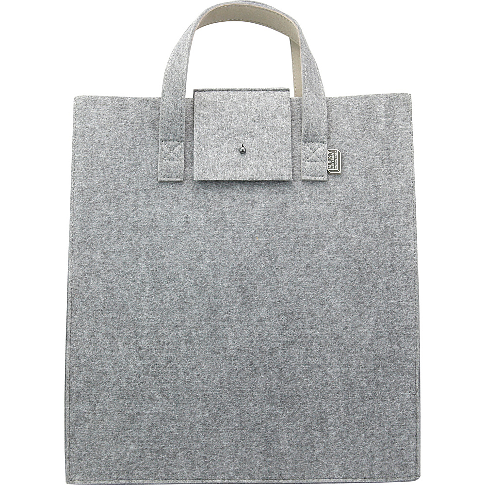Mad Rabbit Kicking Tiger Parker Tote Elephant Grey Mad Rabbit Kicking Tiger Women s Business Bags