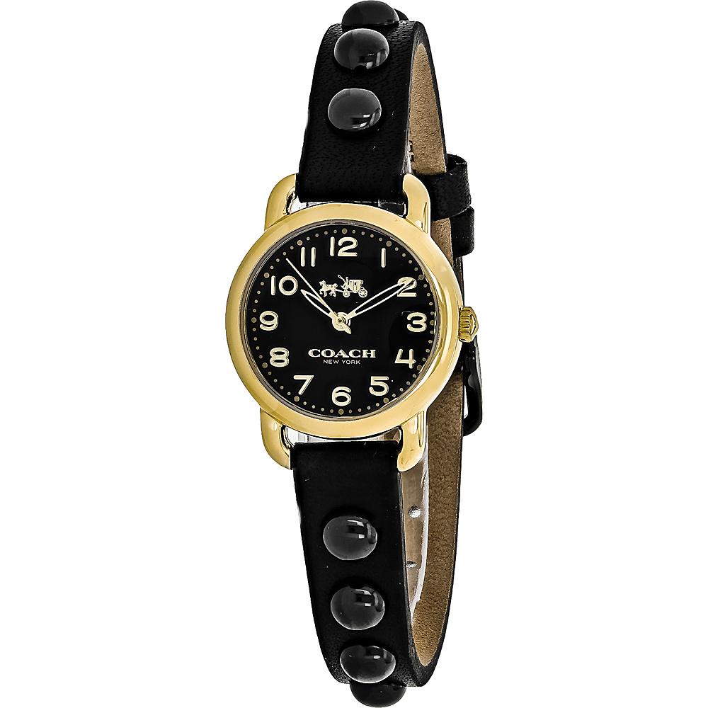 Coach Watches Coach Women's Delancey Watch Black - Coach Watches Watches