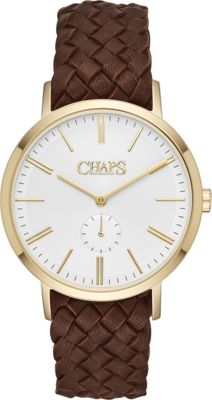 Chaps Dunham Three-Hand Watch Brown - Chaps Watches