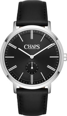 Chaps Dunham Three-Hand Watch Black - Chaps Watches