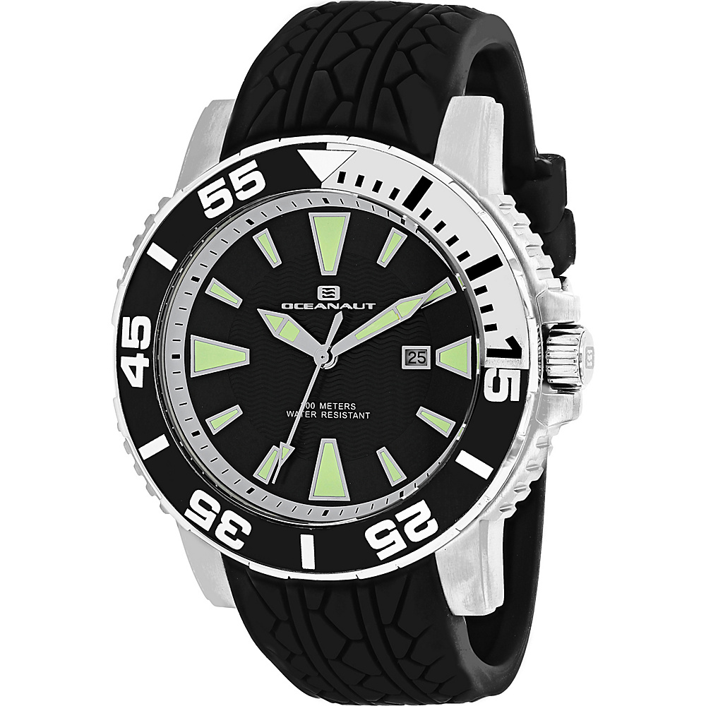 Oceanaut Watches Men s Marletta Watch Black Oceanaut Watches Watches