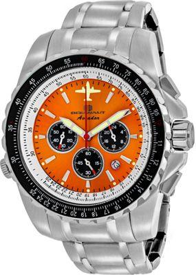 Oceanaut Watches Men's Aviador Pilot Watch Orange - Oceanaut Watches Watches