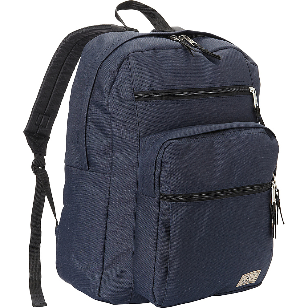 Everest Multi-Compartment Daypack with Laptop Pocket Navy - Everest School & Day Hiking Backpacks - Backpacks, School & Day Hiking Backpacks