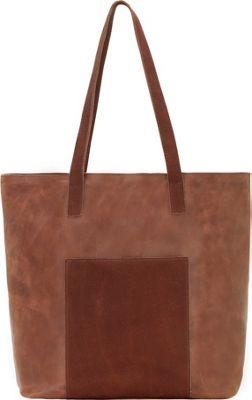 TrueLu The Olivia Tote Rust - TrueLu Leather Handbags