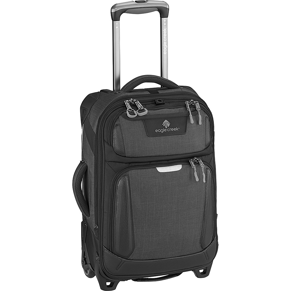 Eagle Creek Tarmac International Carry-On Asphalt Black - Eagle Creek Softside Carry-On - Luggage, Softside Carry-On