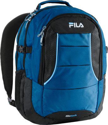 Fila Anchor Laptop Backpack with Tablet Sleeve Blue - Fila Business & Laptop Backpacks
