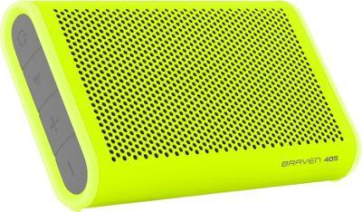 Braven 405 Waterproof Bluetooth Speaker Lime/Gray/Gray - Braven Headphones & Speakers