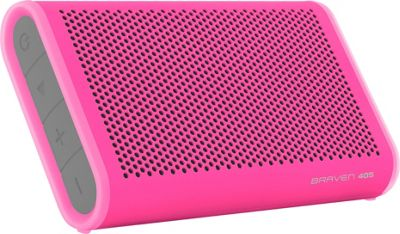 Braven 405 Waterproof Bluetooth Speaker Raspberry - Braven Headphones & Speakers