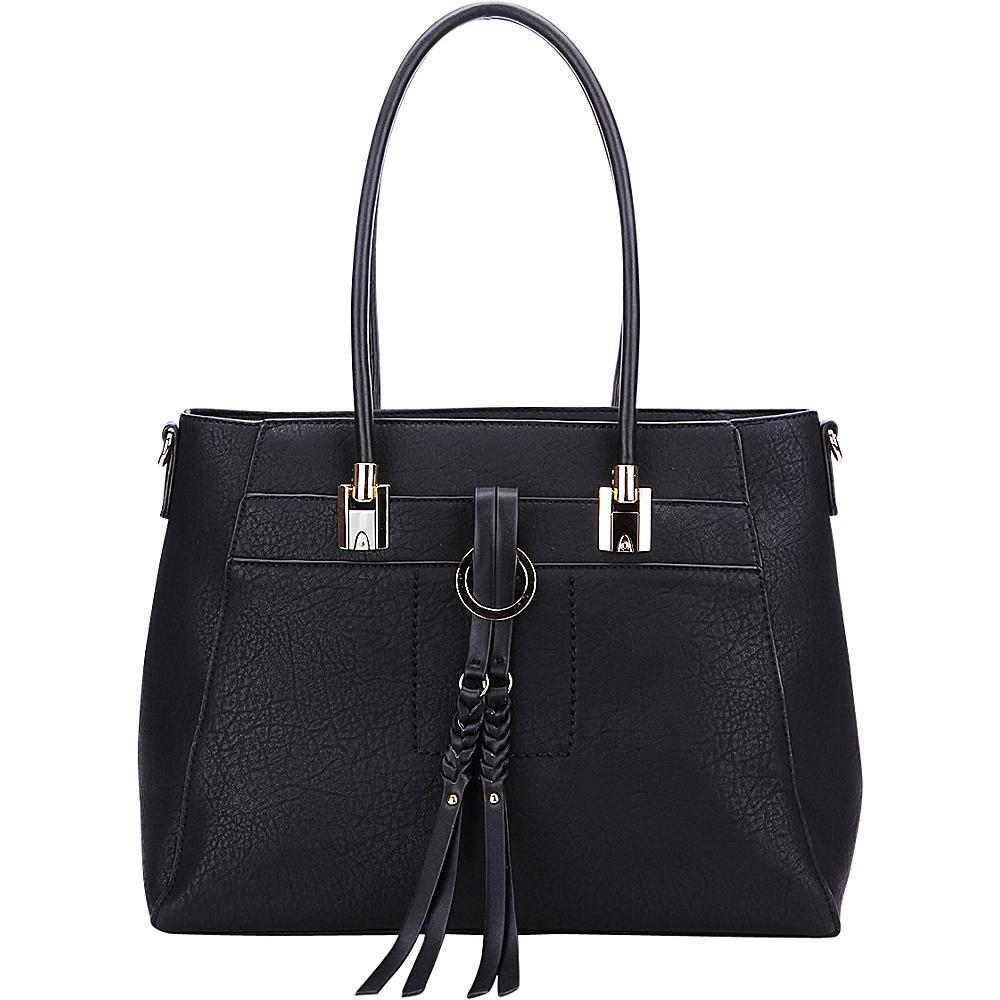 MKF Collection by Mia K. Farrow Jacksonville Tote Black - MKF Collection by Mia K. Farrow Manmade Handbags - Handbags, Manmade Handbags