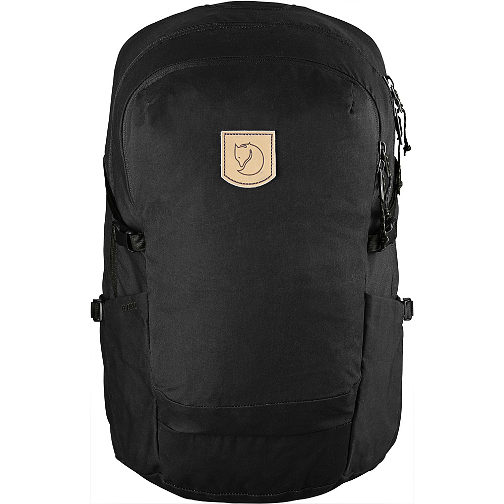 Fjallraven High Coast Trail 26 Hiking Backpack Black - Fjallraven Day Hiking Backpacks - Outdoor, Day Hiking Backpacks