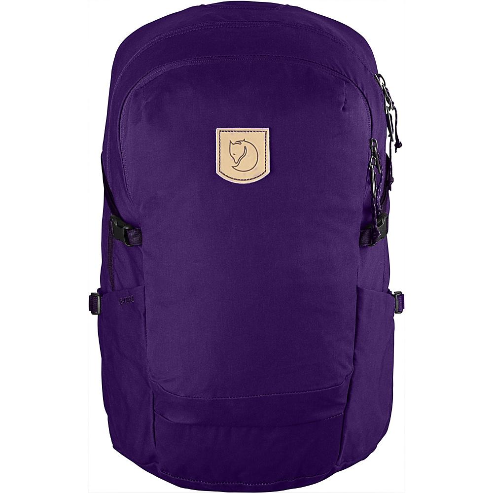 Fjallraven High Coast Trail 26 Hiking Backpack Purple - Fjallraven Day Hiking Backpacks - Outdoor, Day Hiking Backpacks